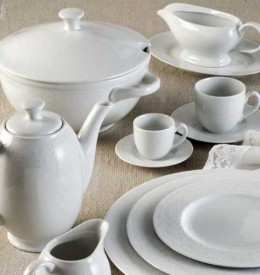 Andreadis Exclusive Πιάτα-Ποτήρια-Μαχαιροπίρουνα
